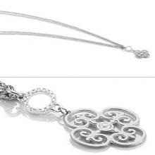 노미네이션 PARADISO stainless steel, sterling silver and Cubic Zirconia necklace Bracelets Rings Necklaces Earrings: Nomination Jewellery - 웹