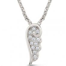 노미네이션 MY ANGEL necklace in sterling silver with Cubic Zirconia (Silver) Bracelets Rings Necklaces Earrings: Nomination Jewellery - 웹